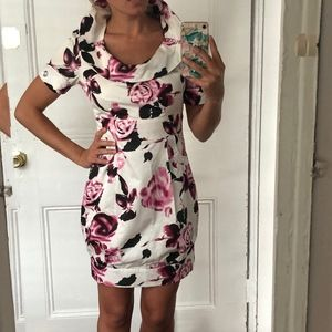 Collared Floral Dress